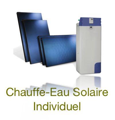 Chauffe eau solaire individuel - CESI